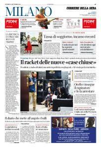 Corriere della Sera Milano – 21 settembre 2018