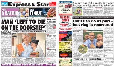 Express and Star Sandwell Edition – July 09, 2019