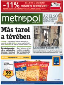 Metro [Hungary - Budapest], 10. Januar 2014