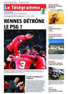Le Télégramme Guingamp – 28 avril 2019