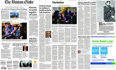 The Boston Globe – January 18, 2018