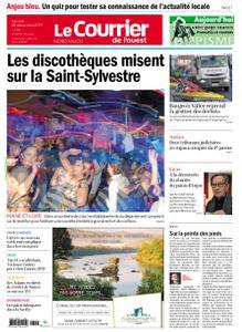 Le Courrier de l'Ouest Nord Anjou – 28 décembre 2019
