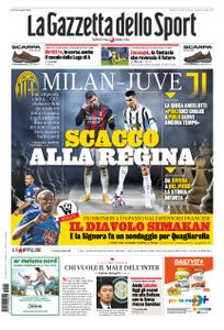 La Gazzetta dello Sport – 05 gennaio 2021