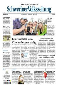 Schweriner Volkszeitung Hagenower Kreisblatt - 11. April 2018