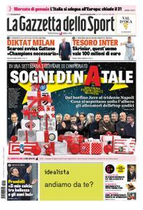 La Gazzetta dello Sport Roma – 21 dicembre 2018