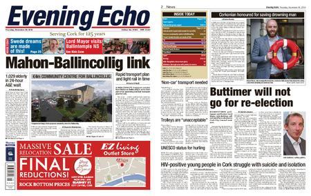Evening Echo – November 29, 2018