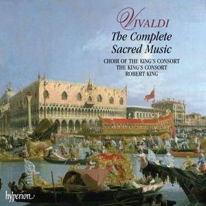 Robert King,  King's Consort - Vivaldi: The Complete Sacred Music  (11CDs) [2005]