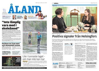 Ålandstidningen – 10 februari 2020