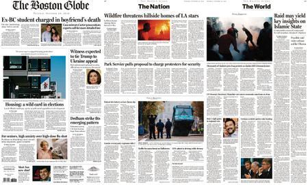 The Boston Globe – October 29, 2019