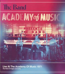 The Band - Live At The Academy Of Music 1971 (2013) {4CD & DVD-A/V Capitol Records, UMe 0602537375271} (Complete Artwork)