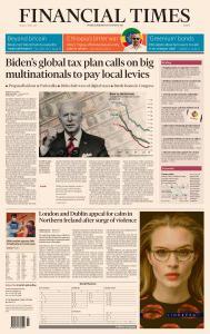 Financial Times Europe - April 9, 2021