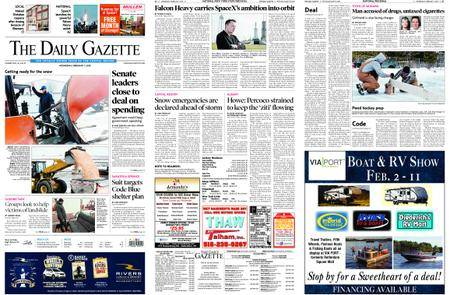 The Daily Gazette – February 07, 2018