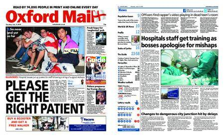 Oxford Mail – July 12, 2018