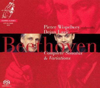 Dejan Lazić & Pieter Wispelwey - Beethoven: Complete Sonatas & Variations (2005) [Official Digital Download]