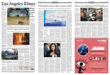 Los Angeles Times – August 10, 2021