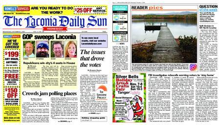 The Laconia Daily Sun – November 04, 2020