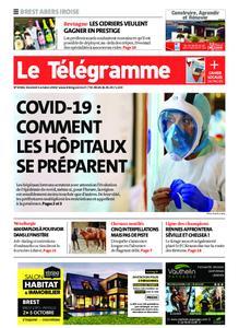 Le Télégramme Brest Abers Iroise – 02 octobre 2020