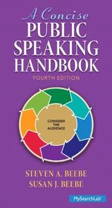 A Concise Public Speaking Handbook, 4th Edition (repost)