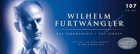 Wilhelm Furtwangler - Das Vermachtnis / The Legacy: Box Set 107CDs (2011) Re-up