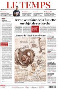 Le Temps - 01 mars 2019