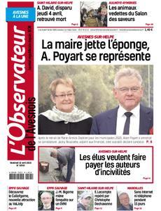 L'Observateur de l'Avesnois - 12 avril 2019
