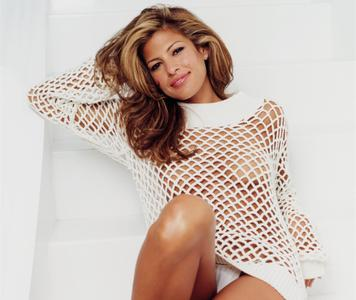 Eva Mendes by Mark Healy for GQ Magazine June 2003