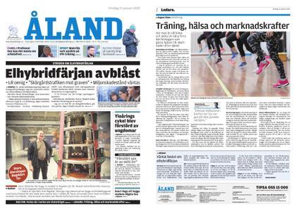 Ålandstidningen – 22 januari 2020