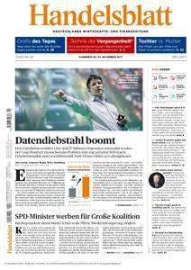 Handelsblatt - 23. November 2017
