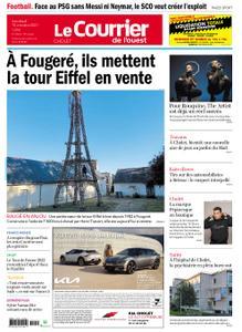 Le Courrier de l'Ouest Cholet – 15 octobre 2021