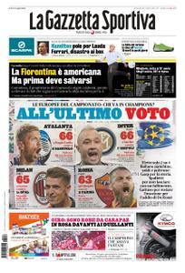 La Gazzetta dello Sport Roma – 26 maggio 2019