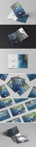 A5 Invitation Card / Brochure Mock-Ups Vol.1