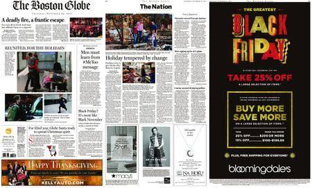 The Boston Globe – November 23, 2017