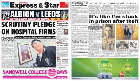 Express and Star Sandwell Edition – March 02, 2019
