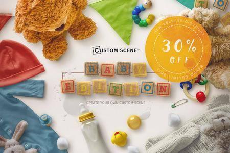 CreativeMarket - Baby Edition - Custom Scene