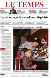 Le Temps - 06 mai 2019