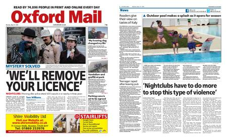 Oxford Mail – May 27, 2019