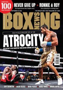 Boxing News – September 16, 2021