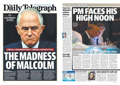 The Daily Telegraph (Sydney) – August 24, 2018