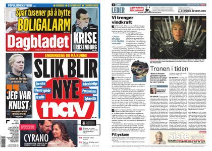 Dagbladet – 15. april 2019