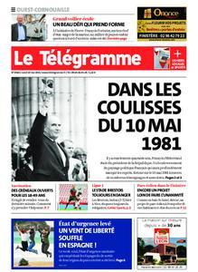 Le Télégramme Ouest Cornouaille – 10 mai 2021