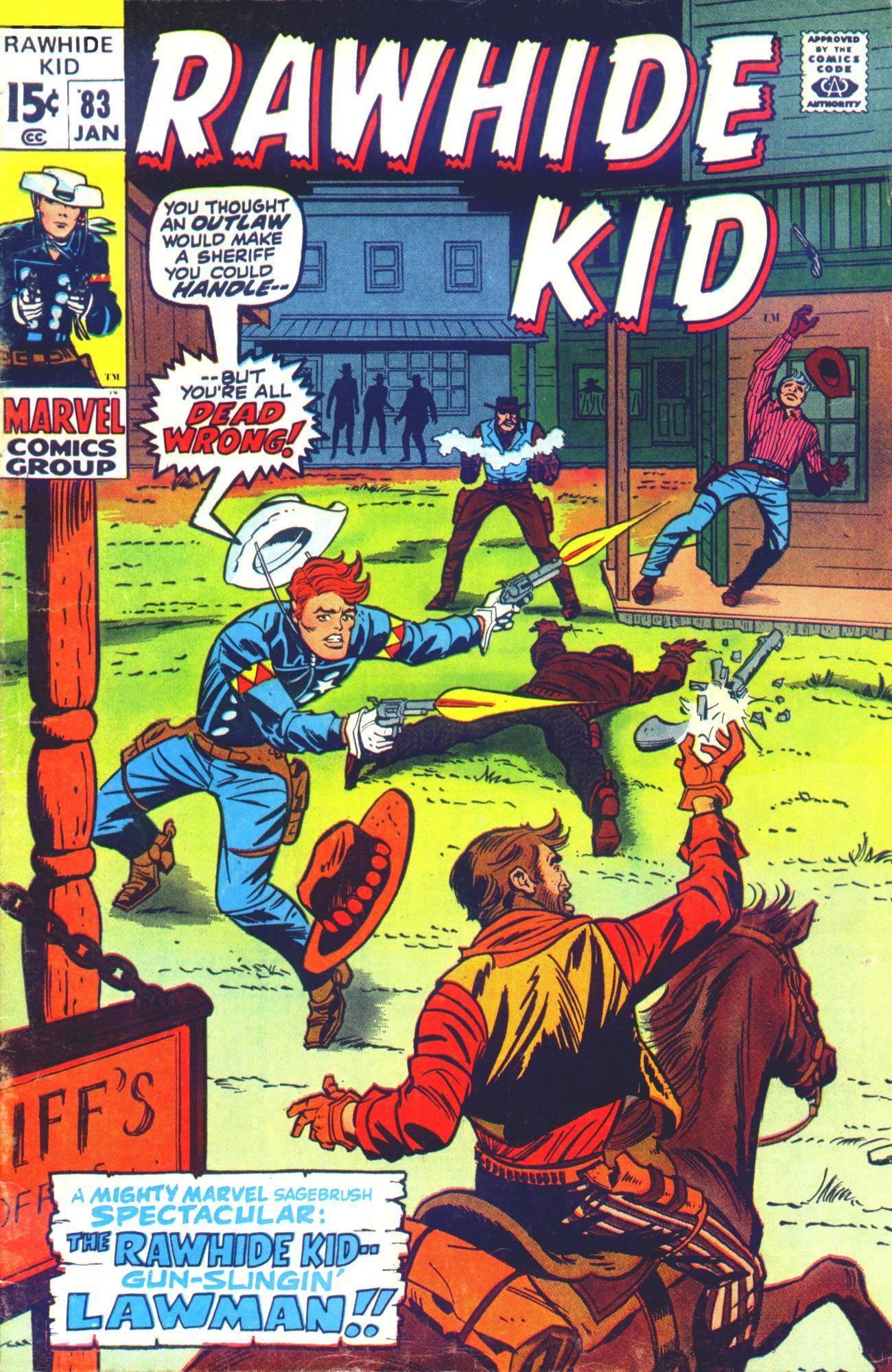 Rawhide Kid v1 083 1971