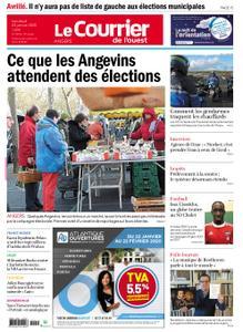 Le Courrier de l'Ouest Angers – 24 janvier 2020