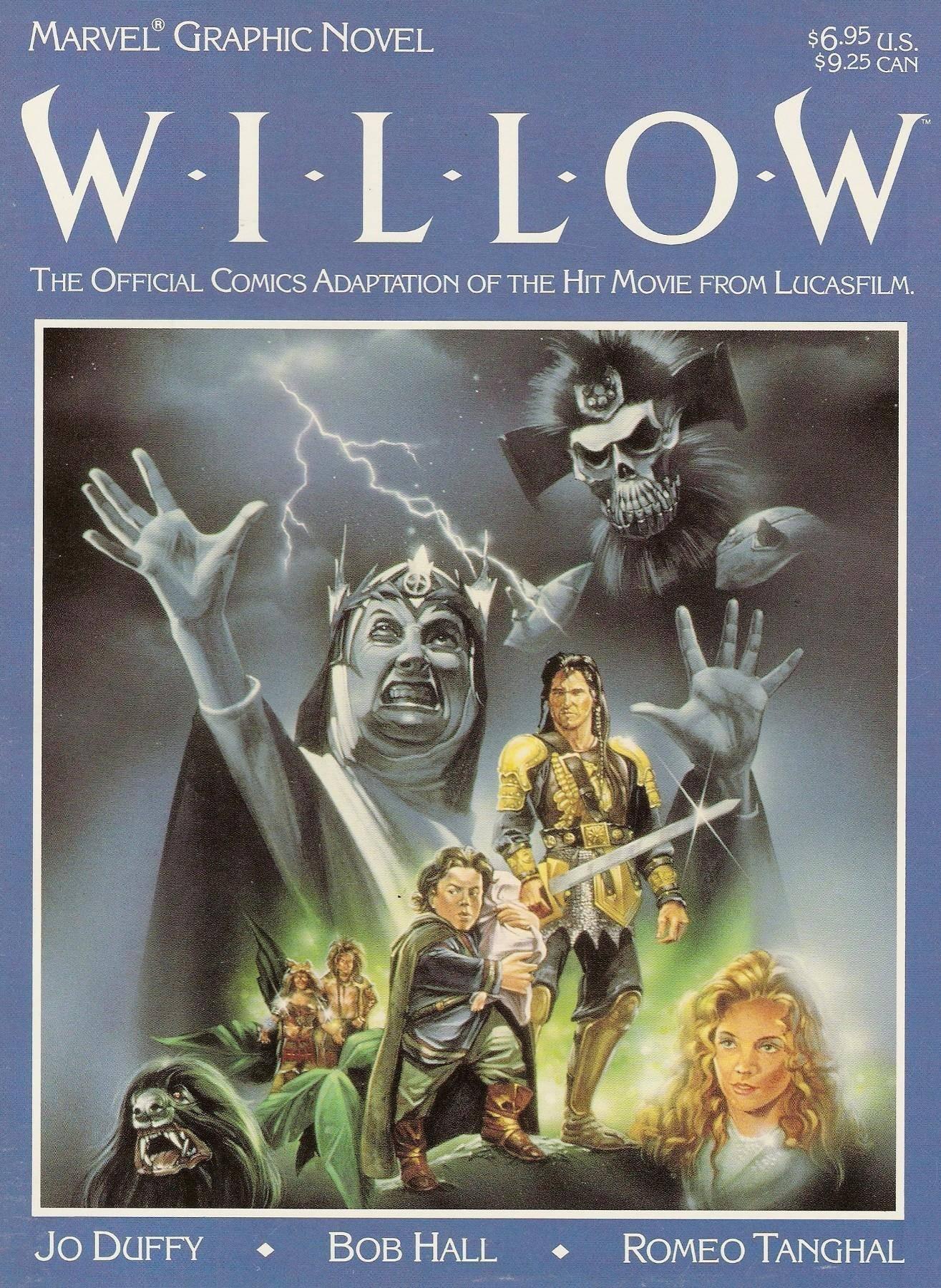 Marvel Graphic Novel 36 - Willow 1988