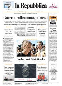 la Repubblica - 20 Luglio 2019