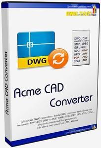 Acme CAD Converter 2020 version 8.9.8.1512 Multilingual