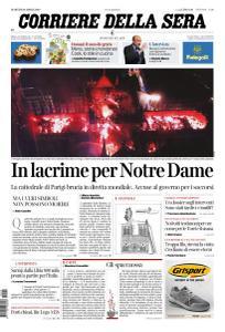 Corriere della Sera - 16 Aprile 2019