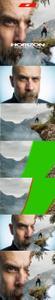 GraphicRiver - Gif Animated Horizon Photoshop Action 24080344