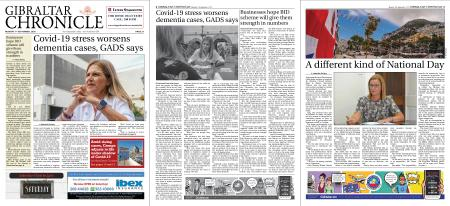 Gibraltar Chronicle – 07 September 2020