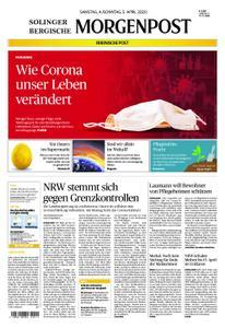 Solinger Morgenpost – 04. April 2020