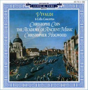 Christophe Coin, The Academy of Ancient Music, Christopher Hogwood - Antonio Vivaldi: 6 Cello Concertos (1989) [Re-Up]